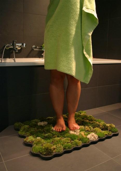 """moss carpet2 """"สวนเล็กๆ ในพรมเช็ดเท้า"""" ประจำห้องน้ำของคุณ"""