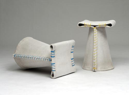 Stitching Concrete  Chair  15 - canvas