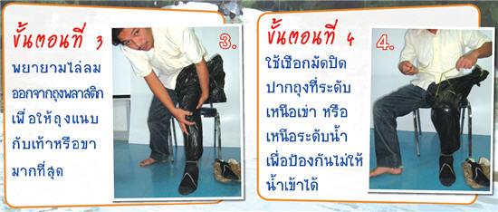 DIY.รองเท้ากันฉี่หนู 16 - DIY