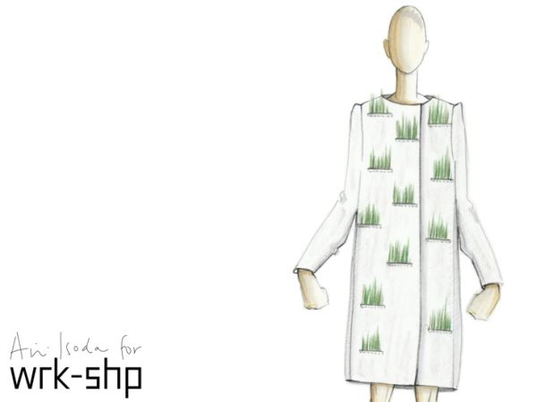 Living Raincoat เสื้อกันฝน ปลูกต้นไม้ได้ 17 - living raincoat