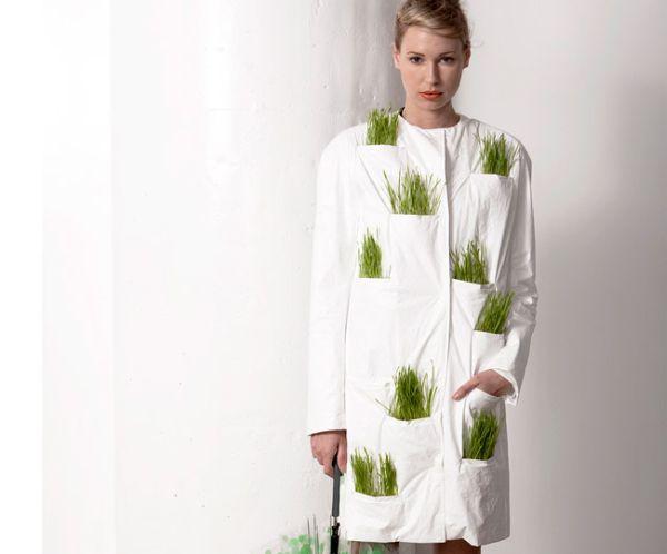 Living Raincoat เสื้อกันฝน ปลูกต้นไม้ได้ 13 - living raincoat
