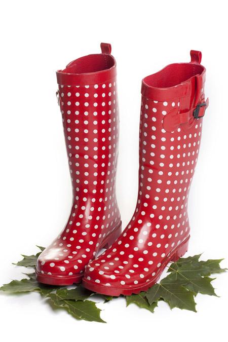 แฟชั่นรองเท้าบู๊ทยาง 16 - Rainboots