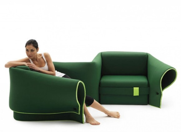 31 580x424 A Multi Transformation Sofa by Campeggi