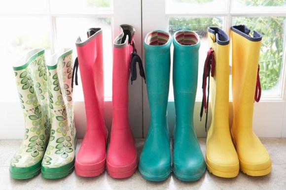 แฟชั่นรองเท้าบู๊ทยาง 14 - Rainboots