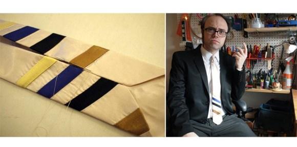 DIY 6 580x287 DIY:DaDs Necktie เนคไทของขวัญวันพ่อสุด Chic!!!