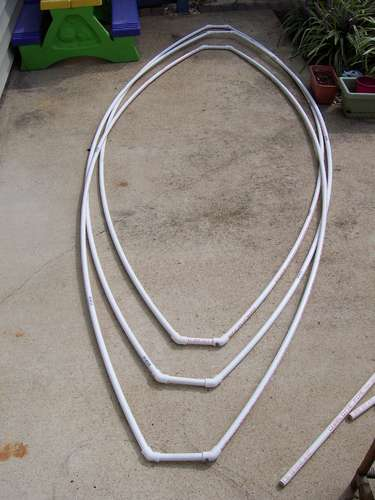 FHF3DMB5ODES9J4P64 MEDIUM1 D.I.Y. เรือจากท่อ PVC