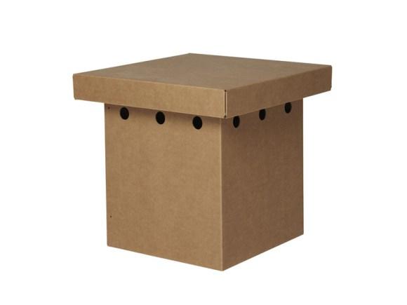 เฟอร์นิเจอร์ชุดพร้อมอพยพ..ชุดพับเก็บยกขึ้นชั้น2 สบายๆ 20 - cardboard