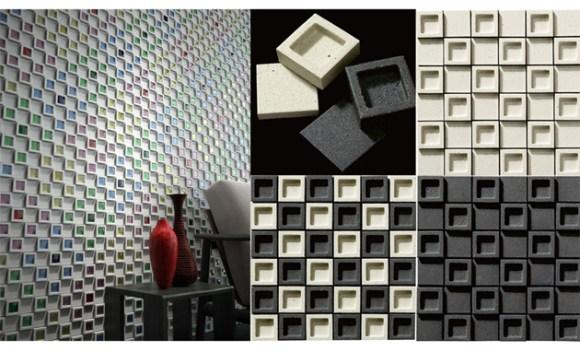 Dent Cube: Create a Unique Wall ไอเดียการตกแต่งแนวกำแพง 14 - interior design