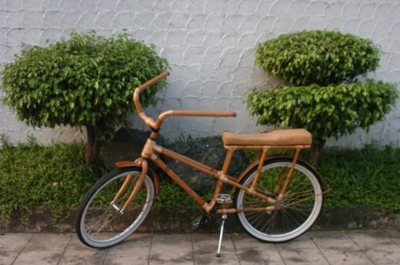 bambeach cruiser ligtasin cove 580x385 Bambike จักรยานไม้ไผ่รายได้สู่ชุมชน
