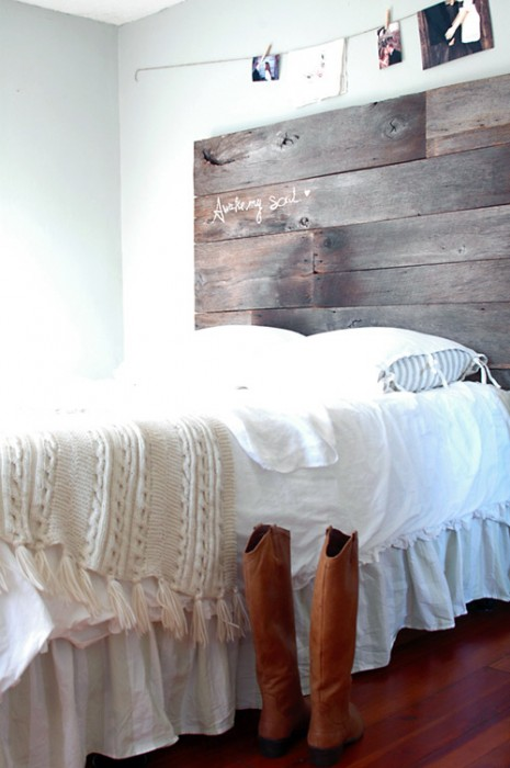 DIY ตกแต่งหัวเตียงนอนใหม่ หลังน้ำท่วม  22 -