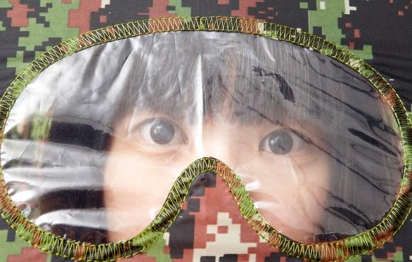 camouflage02 580x369 Goggles umbrella แฟชั่นทหารบนร่ม