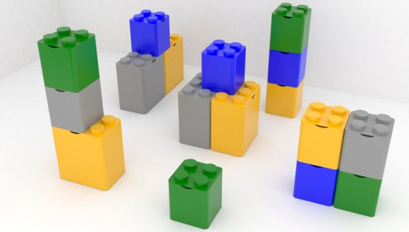 LEGO recycling containers 19 -