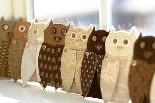 diy owls 11 DIY.Message จากนกฮูก