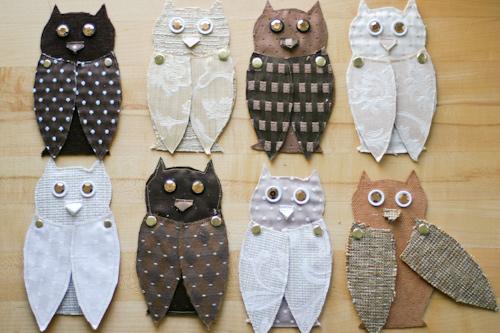 diy owls 7 DIY.Message จากนกฮูก