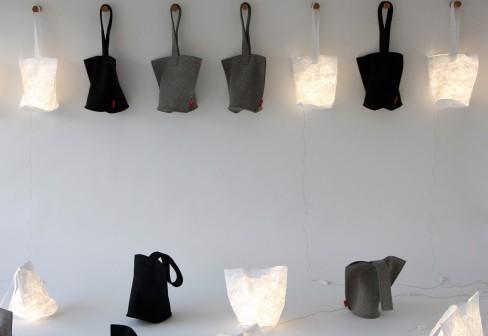 %name Hobo lantern กระเป๋าสะพายเรืองแสง