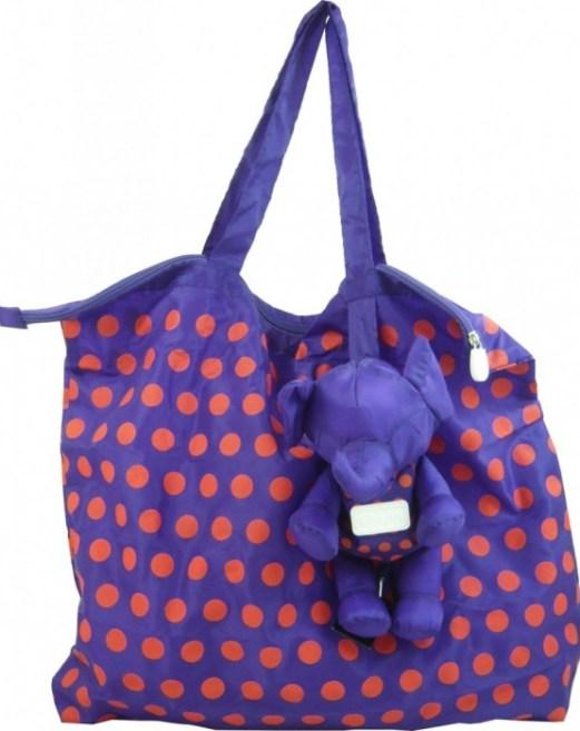 purpleorange1 580x715 Eleph..กระเป๋าพับได้..ช้าง..ช้าง..ช้างน่ารัก
