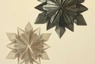 Origami Snowflake..เอาไว้ตกแต่งบรรยากาศช่วงปีใหม่ 27 - origami