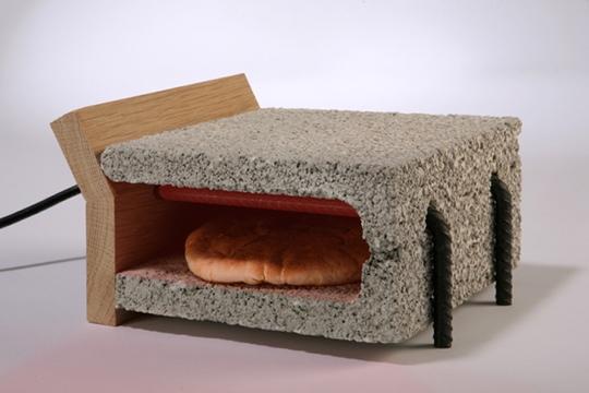 25541228 062854 เครื่องปิ้งขนมปังทำจากวัสดุก่อสร้าง..minimalist toaster