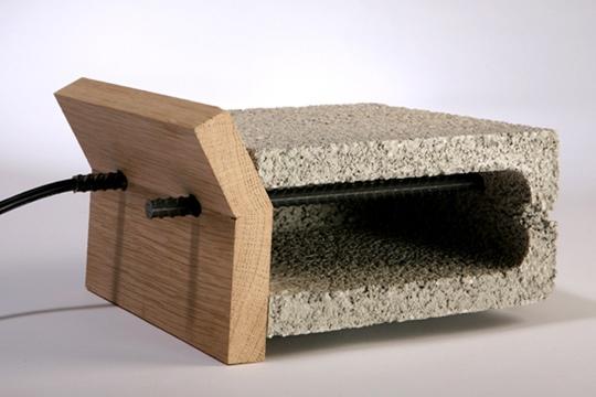 25541228 062914 เครื่องปิ้งขนมปังทำจากวัสดุก่อสร้าง..minimalist toaster