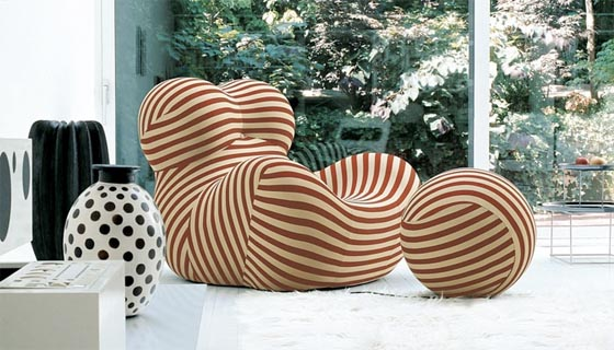 Armchair beautiful for your home interior อวบๆ น่านั่งเสียงจริง Up Series Furniture