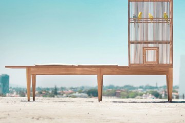 Family Bench by Valentin Garal ม้านั่งยาว-เคล้าเสียงนก 10 - Bench