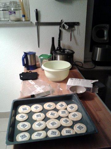 qkies4 Cookie QR codes