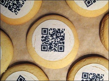 qr code food qkies cookies Cookie QR codes