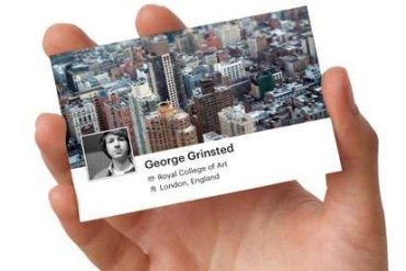 facebook card..นามบัตร social business cards 20 - Facebook