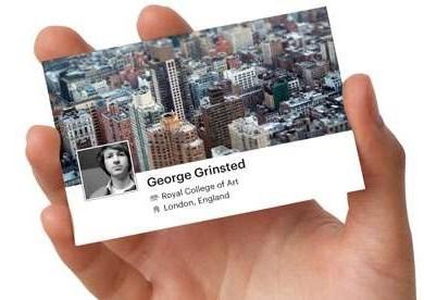 facebook card..นามบัตร social business cards 14 - Business Card