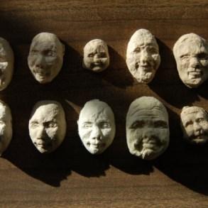 Seed Face..เมล็ดพืชจากกระดาษรีไซเคิลรูปหน้าคน 17 - green idea