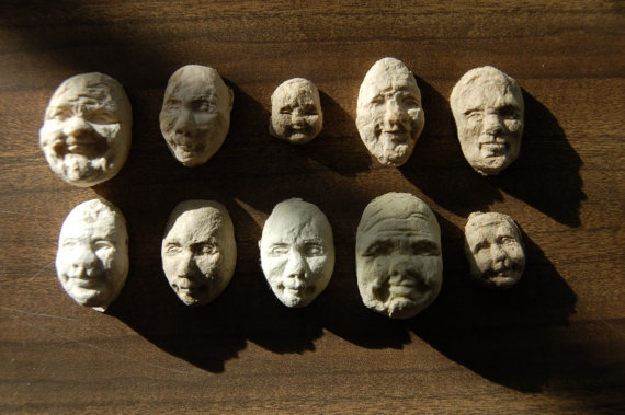 Seed Face..เมล็ดพืชจากกระดาษรีไซเคิลรูปหน้าคน 15 - GREENERY