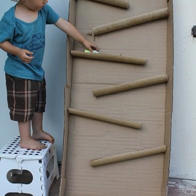 D.I.Y. ของเล่นเด็ก เสริมทักษะ และพัฒนาการ จากกล่องและแกนกระดาษเก่า 19 - DIY