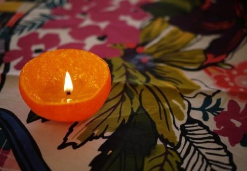 25550126 101909 แสงไฟโรแแมนติก..จากเปลือกส้ม