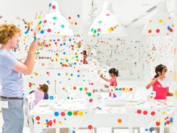 Look Now, See Forever by Yayoi Kusama 15 - art exhibition