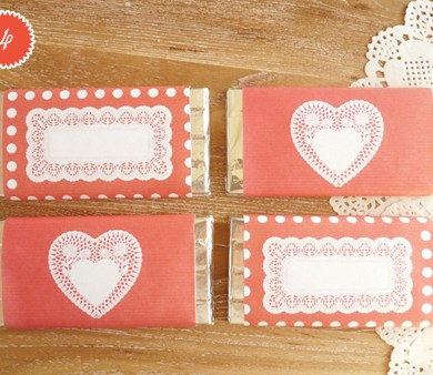 DIY.Chocolate bar wrapper 15 - chocolate bar