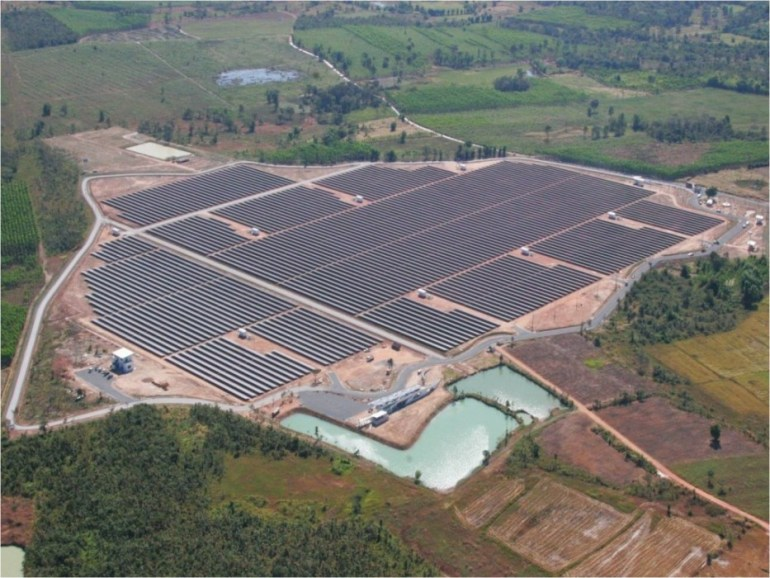 โรงไฟฟ้าพลังงานแสงอาทิตย์ใหญ่ที่สุดในประเทศไทย 13 - 100 Share+