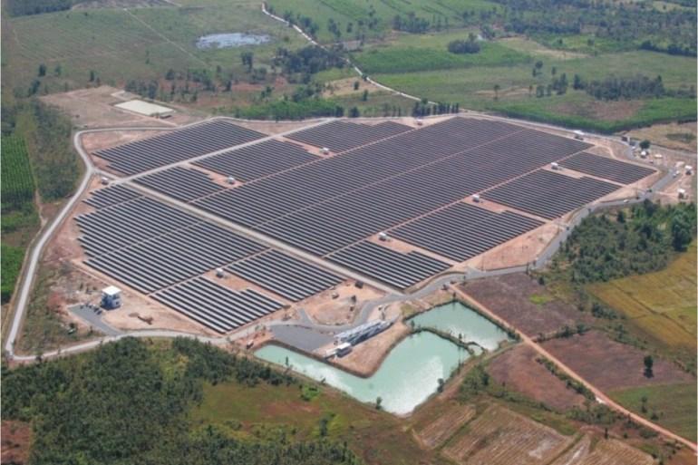 โรงไฟฟ้าพลังงานแสงอาทิตย์ใหญ่ที่สุดในประเทศไทย 21 - Solar