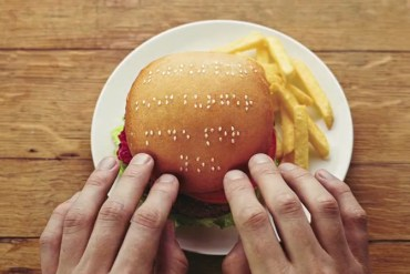 Wimpy braille burgers มอบรอยยิ้มสู่ผู้พิการทางสายตา 13 - burger