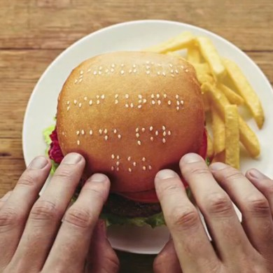 Wimpy braille burgers มอบรอยยิ้มสู่ผู้พิการทางสายตา 17 - Braille