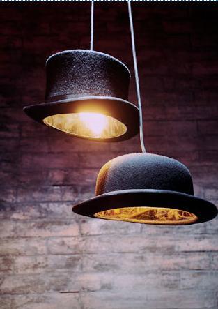 jeeves lamp ajpg โคมไฟหมวก