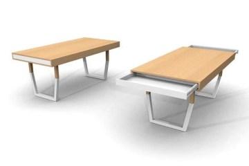 Hidden Table..ลิ้นชักใต้โต๊ะ  ที่ดูกลมกลม จนเหมือนเป็นจุดซ่อนเร้น 7 -