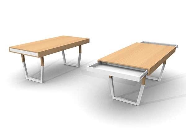 25550212 231349 Hidden Table..ลิ้นชักใต้โต๊ะ ที่ดูกลมกลม จนเหมือนเป็นจุดซ่อนเร้น