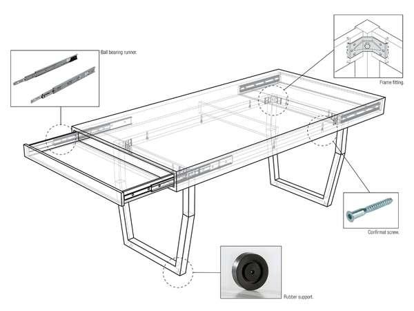 25550212 231501 Hidden Table..ลิ้นชักใต้โต๊ะ ที่ดูกลมกลม จนเหมือนเป็นจุดซ่อนเร้น