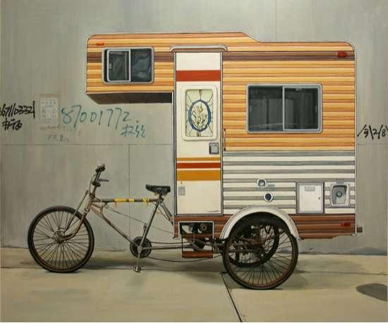 25550222 204940 Camper Bike..จักรยาน+ที่พักแรม