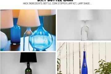 BOTTLE LAMP IDEAS หลอดไฟขวดแก้ว