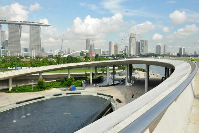 Marina Barrage เขื่อนมาริน่าอีกหนึ่งวิธีแก้ปัญหาน้ำท่วมในย่านธุรกิจ และบริเวณที่ราบต่ำกลางเมือง  17 - GREENERY