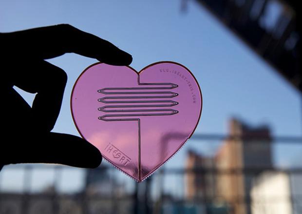 Heart part // Knife, fork and scoop ในชิ้นเดียว!! 14 - Plastic