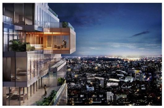 """The Ritz-Carlton Residences BKK """"มหานคร"""" ตึกระฟ้าแห่งใหม่ที่กำลังจะทำลายสถิติอาคารสูงที่สุดในประเทศไทย 16 - Apartment"""