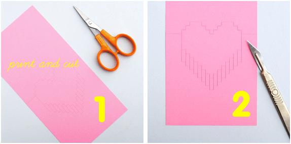 DIY Valentine POP UP CARD ทำการ์ด Handmade สุดเก๋ ส่งให้คนน่ารักกันเถอะ 16 - card