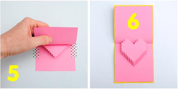 DIY Valentine POP UP CARD ทำการ์ด Handmade สุดเก๋ ส่งให้คนน่ารักกันเถอะ 19 - card